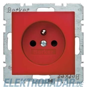 Berker Steckdose mit Erdungsstift 6765760062