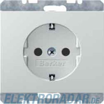 Berker SCHUKO-Steckdose pws/gl 47157009