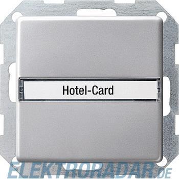 Gira Hotel Card Taster alu 0140203