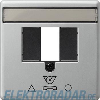Gira Zentralplatte alu 0860203
