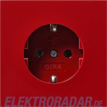 Gira Schuko-Steckdose rt/gl 0434119