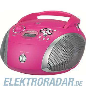 Grundig Intermedia CD-Radio RCD 1445 USB pink/si