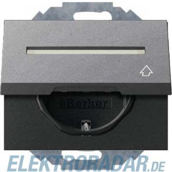 Berker SCHUKO-Steckdose mit Klapp 47487106