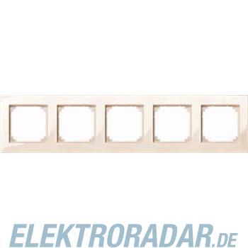 Merten M-PLAN-Rahmen 5f. ws/gl 515544