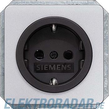 Siemens DELTA profil silber SCHUKO 5UB1465