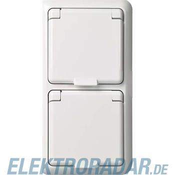 Elso UP-Steckdose 2-fach IP44 F 225411