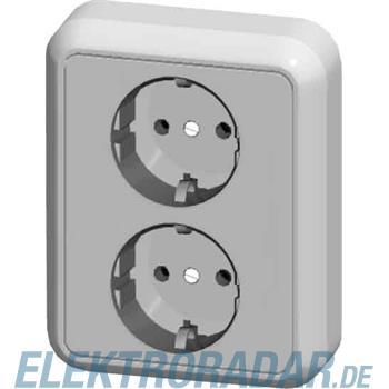 Elso UP-Steckdose 2-fach halbve 2354012