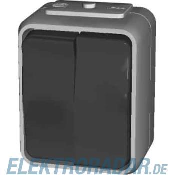 Elso Doppeltaster, 10A, Schraub 452509