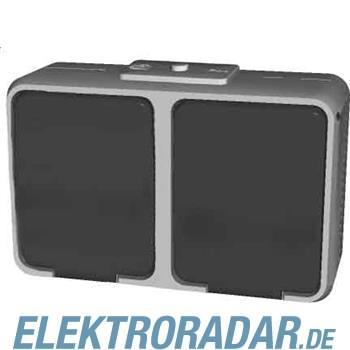 Elso Steckdose 2-fach waagerech 455404