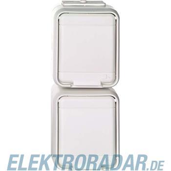 Elso Steckdose 2-fach senkrecht 455709