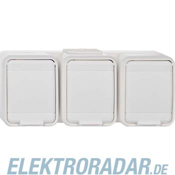 Elso Steckdose 3-fach, waagerec 455750