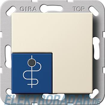 Gira Arztruftaster blau System 290501