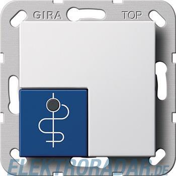 Gira Arztruftaster blau System 290503