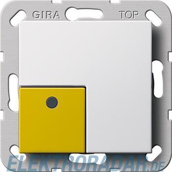 Gira Anwesenheitstaster gelb Sy 291003