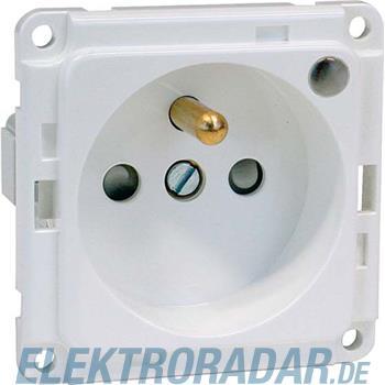 Peha Export-Steckdose orange B 6571.33 ME LED/4SI