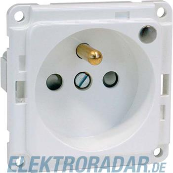 Peha Export-Steckdose gn B 6571.42 ME LED/4SI
