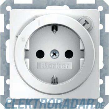 Berker SCHUKO-Steckdose m. FI-Sch 47086089
