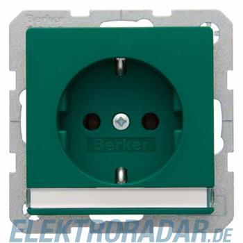 Berker SCHUKO-Steckdose m. Beschr 47506003