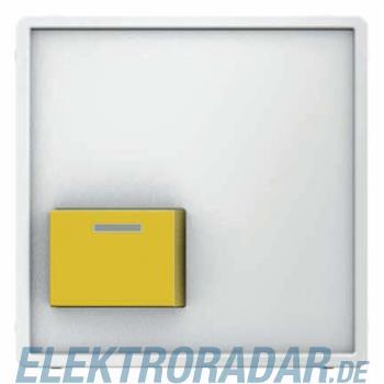 Berker Zentralstueck m. gelber Ab 12526089