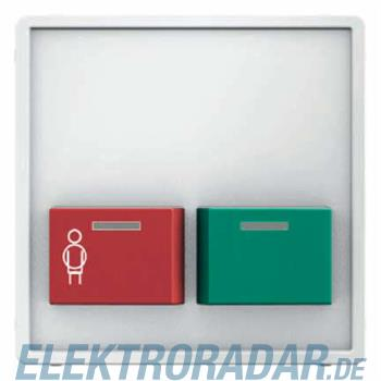 Berker Zentralstueck m. roter Ruf 12496089