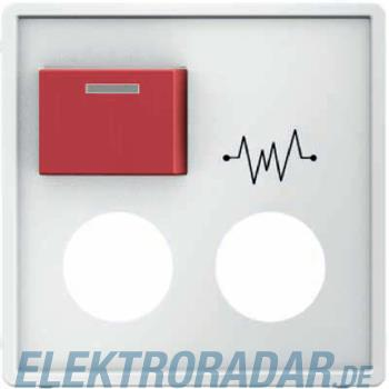 Berker Zentralstueck m. roter Ruf 12186089