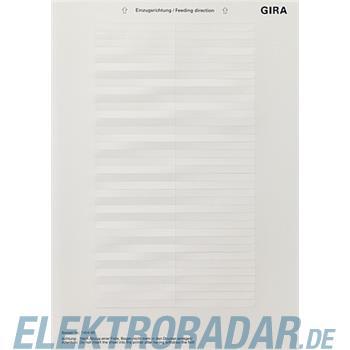 Gira Beschriftungsbogen 145400