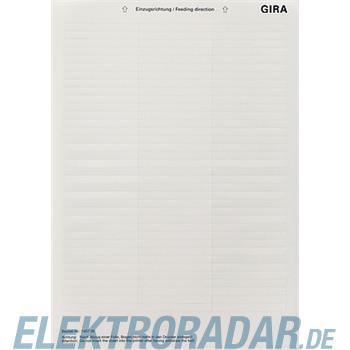 Gira Beschriftungsbogen 145700