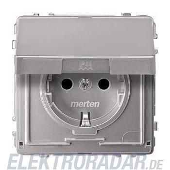 Merten SCHUKO-Steckdose alu MEG2310-7260