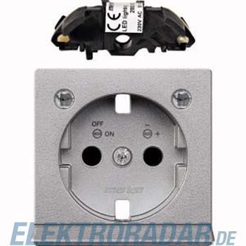 Merten Zentralplatte alu MEG2334-0460