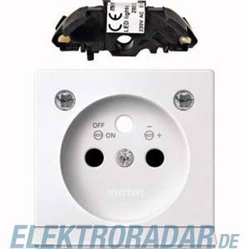Merten Zentralplatte pws/gl MEG2534-0319