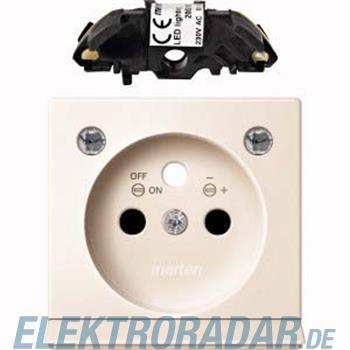 Merten Zentralplatte ws/gl MEG2534-0344