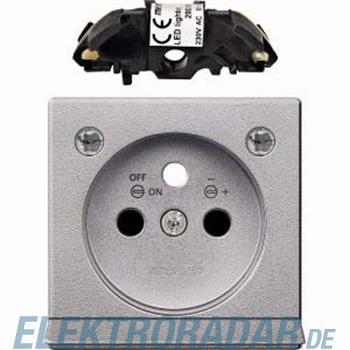 Merten Zentralplatte alu MEG2534-0460