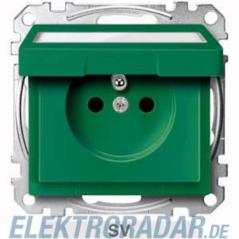 Merten Steckdose SV grün MEG2612-0304