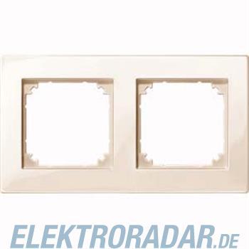 Merten Rahmen 2-fach ws/gl MEG4020-2844
