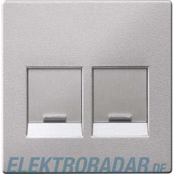 Merten Zentralplatte 2f.alu MEG4542-0460