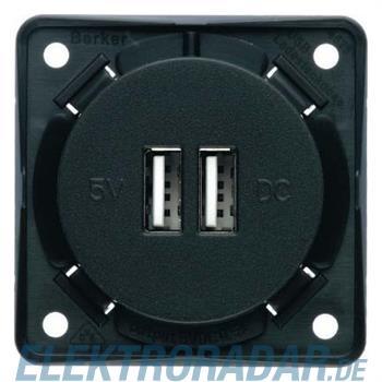 Berker USB Ladesteckdose 230V 0926002505