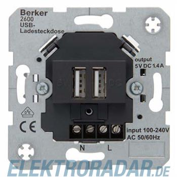 Berker USB Ladesteckdose 230V 260005