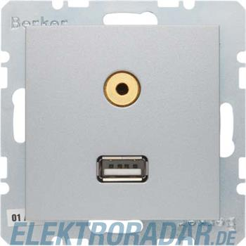 Berker Steckdose USB/3,5mm Audio 3315391404