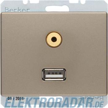 Berker Steckdose USB/3,5mm Audio 3315399011