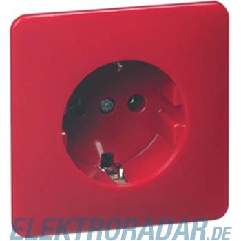 Peha Steckdose SCHUKO D 80.6511 SI ROT