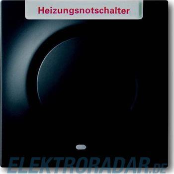 Busch-Jaeger Zentralscheibe sw mt 1789 H-775-101