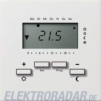 Gira RT-Regler 230 V mit Uhr 2370112