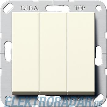 Gira Taster 3-fach cws 284401