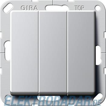 Gira Taster 3-fach alu 2844203