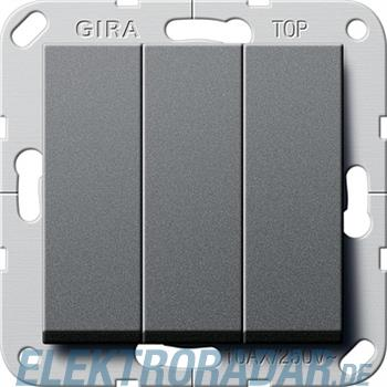 Gira Taster 3-fach anth 284428