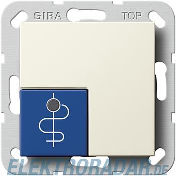 Gira Arztruftaster blau 590501