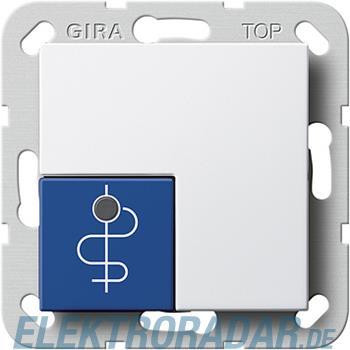 Gira Arztruftaster blau 590503