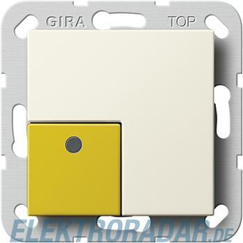 Gira Anwesenheitstaster Gelb 591001