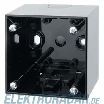 Berker Aufbau-Gehäuse 1f. sw/gl 911512510
