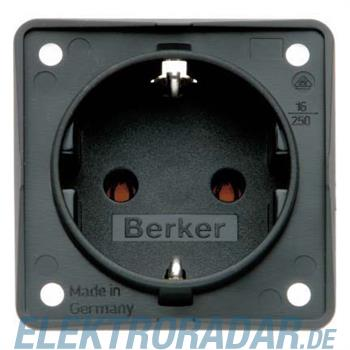 Berker SCHUKO-Steckdose sw 0947782503